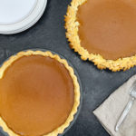 fresh baked pumpkin pies