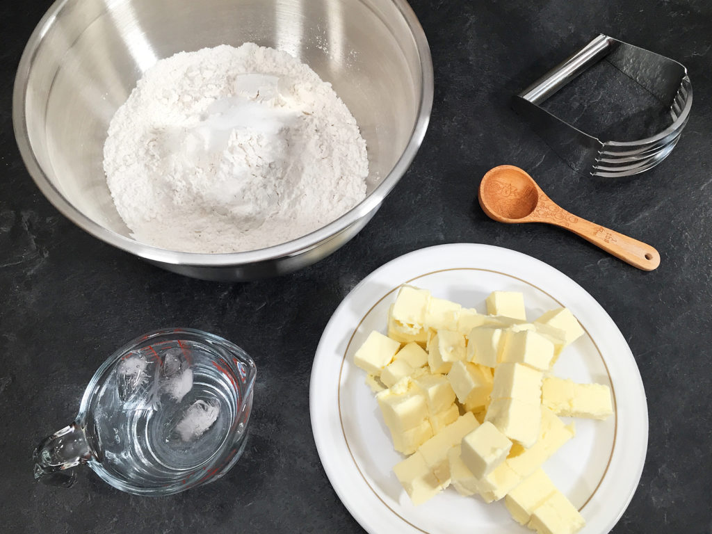 pumpkin pie dough ingredients