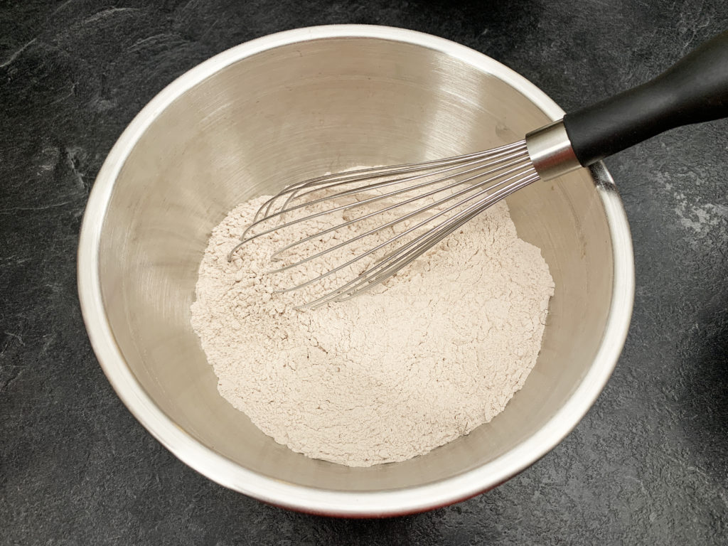 mixed dry ingredients