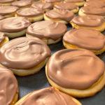 tray of twix cookies