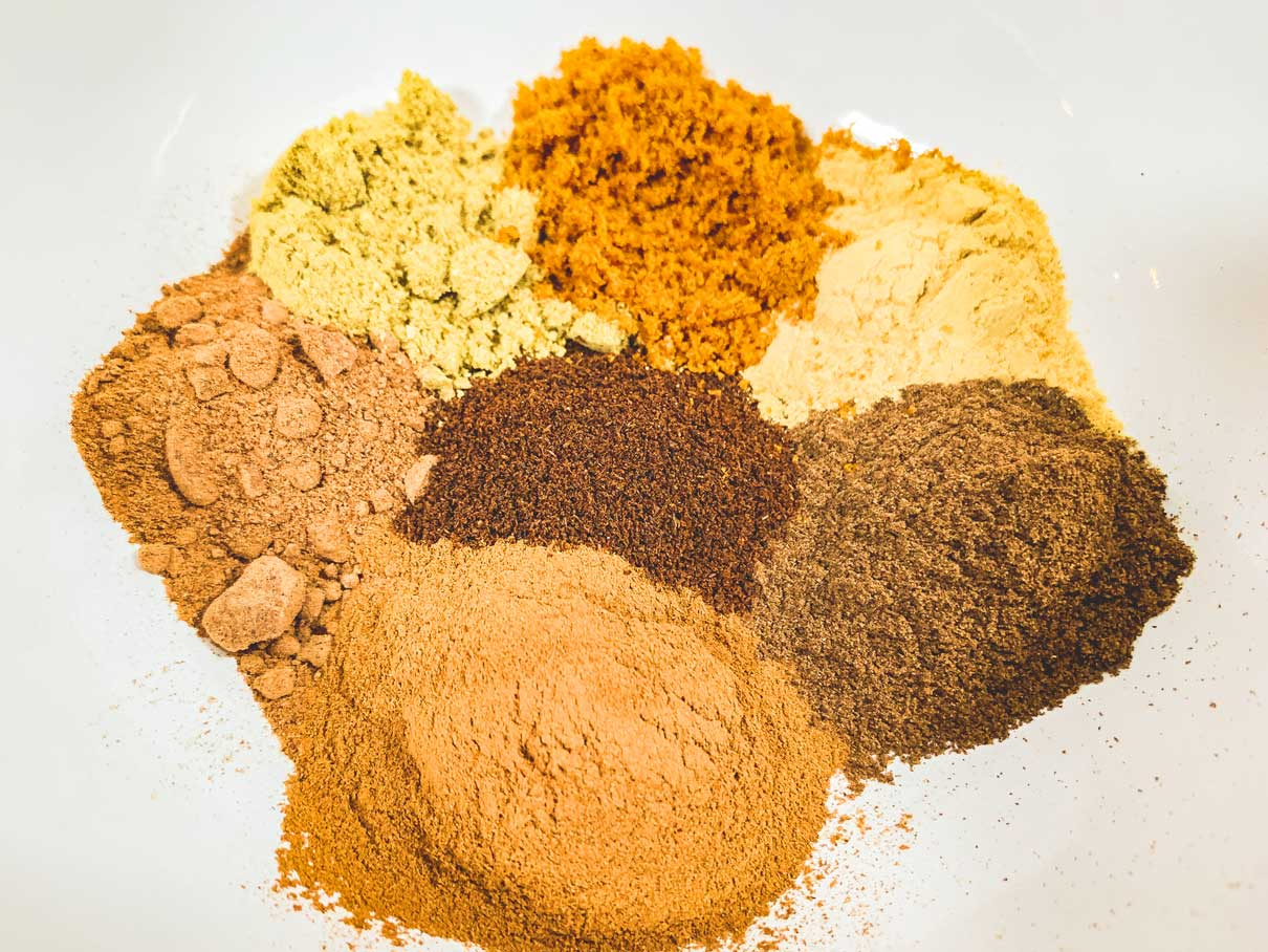 mix of spices in a bowl